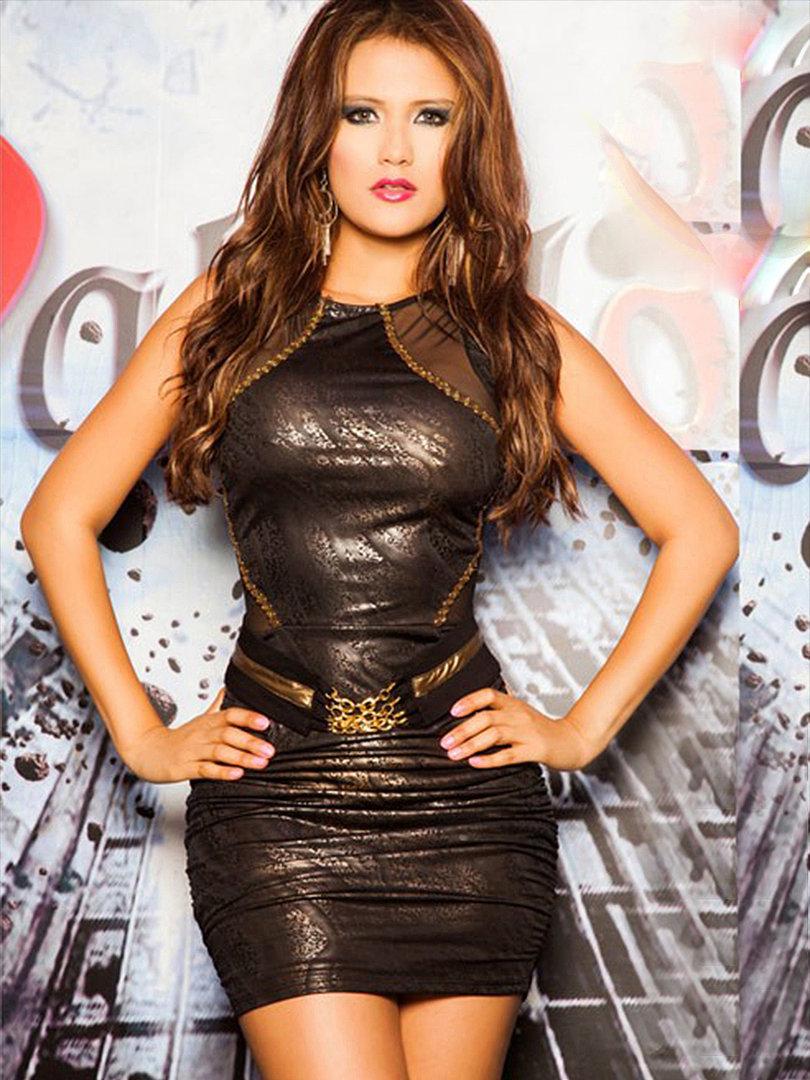 Sexy Luxus Latino Minikleid – Cocktailkleid – Abendkleid - Dream-Luxury