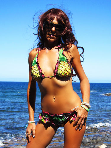"Agua Bendita ""Tamarindo"" Luxus Design Triangel Bikini"