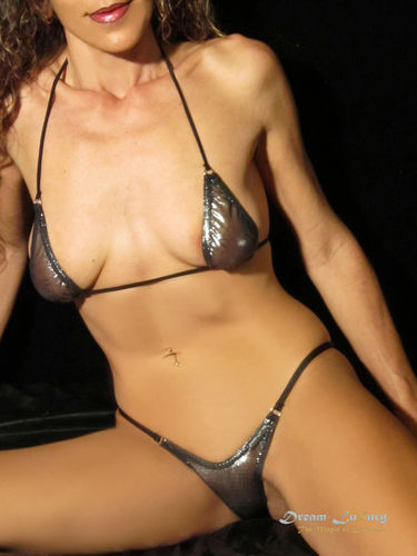 Sexy Dream-Luxury String-Bikini aus TÜLL-METALLIC-TRANSPARENT verfügbar in 11 Farben