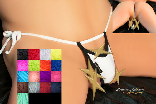 "Dream-Luxury Extrem String-Tanga ""ouvert-offen"""