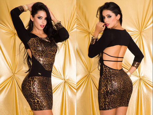 Sexy luxury Latino Minidress – cocktail dress – evening dress