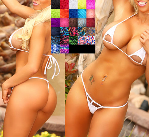 Brazil Triangle Extreme Micro String-Bikini 27 colours