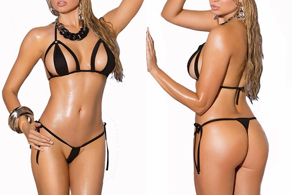 Nina agdal flaunts her incredible toned frame in a tiny string bikini in the hamptons